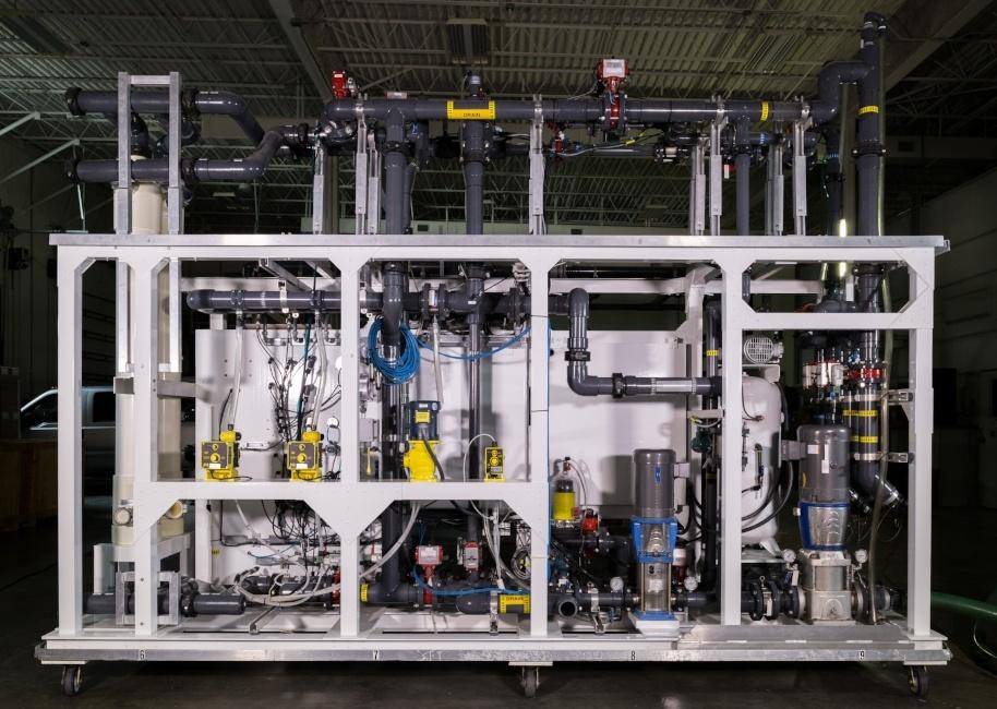 Membrane Filtration Pilot System UF, MF 004