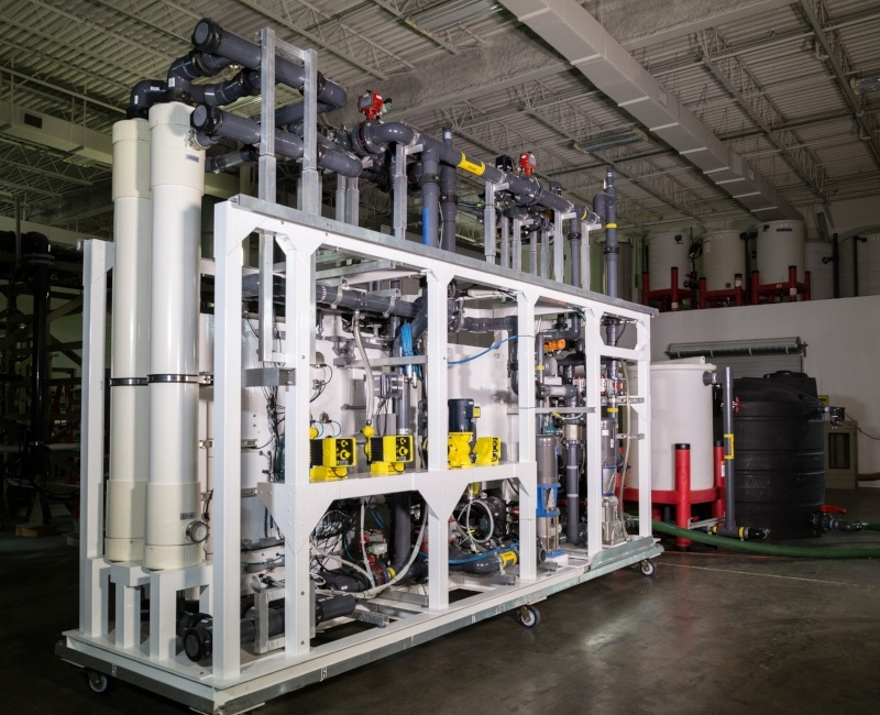 Membrane Filtration Pilot System UF, MF 005