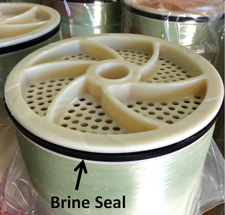 brine seal on ro membrane element, brail seal on a membmerane