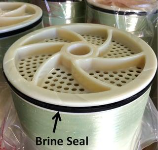 brine seal on ro membrane element, brail seal on a membmerane